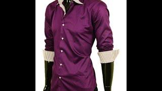 Стильная мужская рубашка La Querre Арт.1002-5(, 2015-01-26T00:02:24.000Z)