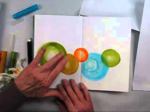 Balance with Gelatos Art Journaling Feature with Shari Carroll