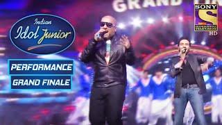 Vishal-Shekhar Give A Mesmerising Performance | Indian Idol Junior | Grand Finale