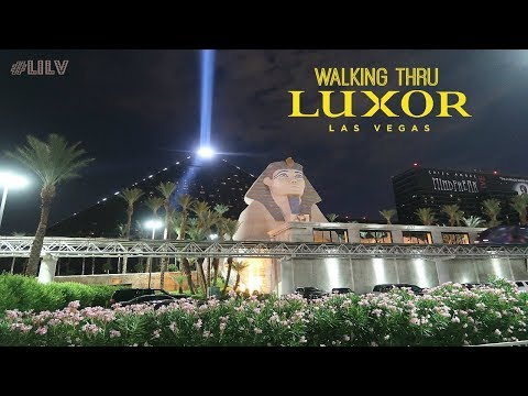 Luxor hotel and casino address