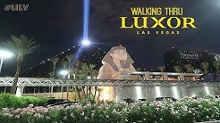Walking Thru Luxor Las Vegas!