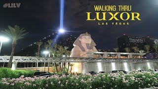 Walking Thru Luxor Las Vegas!