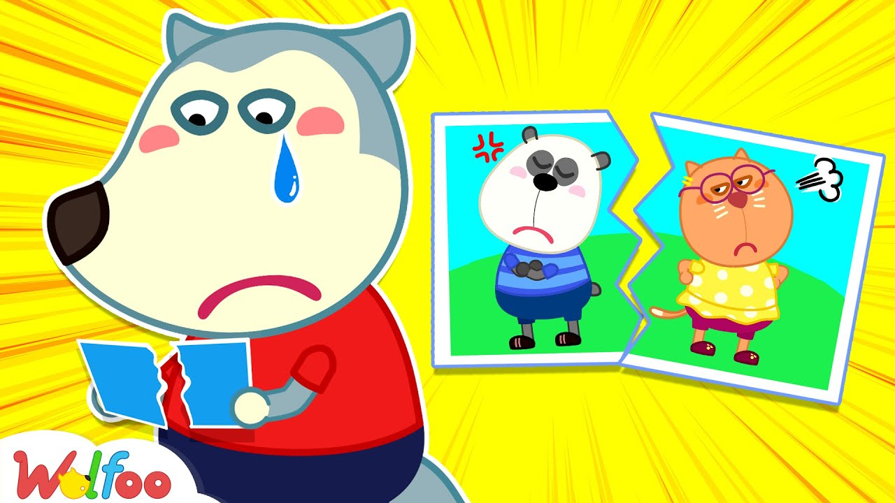 Pando, Don't Be Angry! Wolfoo Always Loves Both of His Friends - Wolfoo Kids Stories |Wolfoo Channel