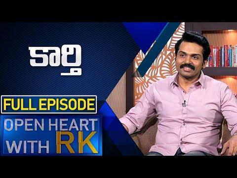Actor Karthi  | Open Heart With RK | Full Episode | ABN Telugu