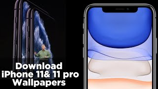 Download the new iPhone 11 and iPhone 11 Pro wallpaper  iphoneX iphone 5, iphone 6, live wallpapers
