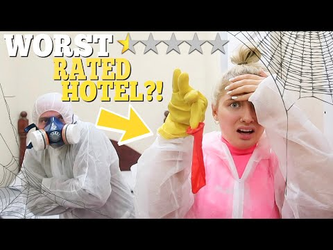 I stayed at the WORST rated HOTEL in my city!! *disgusting*