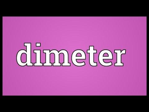 Header of dimeter