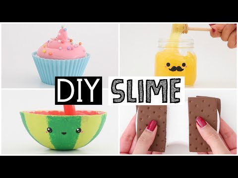 Download Youtube: MAKING 4 AMAZING DIY SLIMES - Four EASY Slime Recipes!
