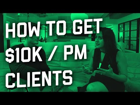 How To Sign $10k/pm+ Agency Deals (Client Interview)