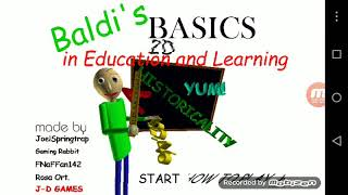 Baldi's Basics in Education and Learning 2D (Testing)