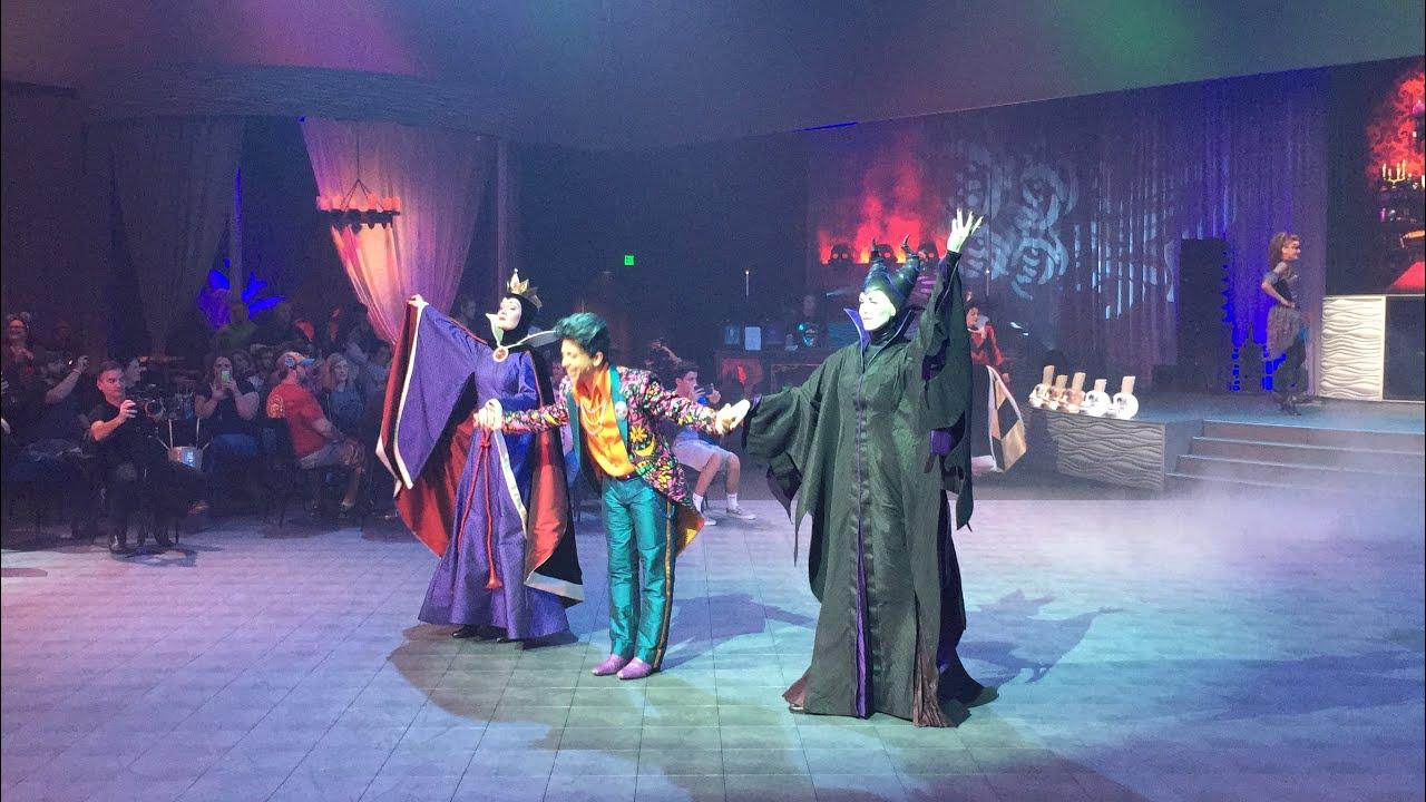 Disneys Atlantis The Villains: Club Villain Dinner & Dance Party Finale