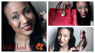 Huge Haul FALL 2014| Michael Kors, Nordstroms, Chinese laundry, Target, Old Navy etc Thumbnail