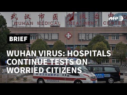AFP News Agency: 'I'm worried I'm infected': Wuhan hospital patient   AFP