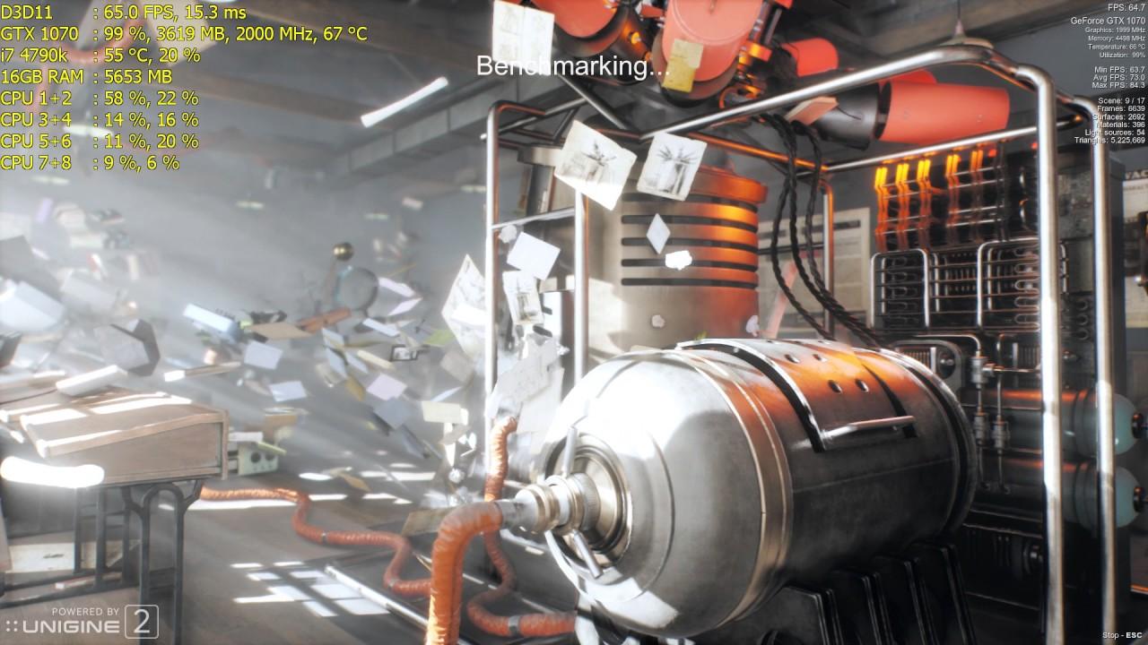 GTX 1070 | Superposition Benchmark 1080p High Preset
