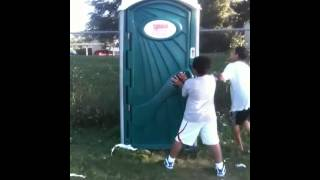 Don't be afraid of the porta potty