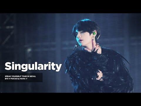 191026 SPEAK YOURSELF The FINAL In SEOUL - Singularity / BTS V / 방탄소년단 뷔 (4K Fancam)