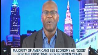 MSNBC Dr Jason Johnson on POTUS Obama Approval Rating 4/21/15