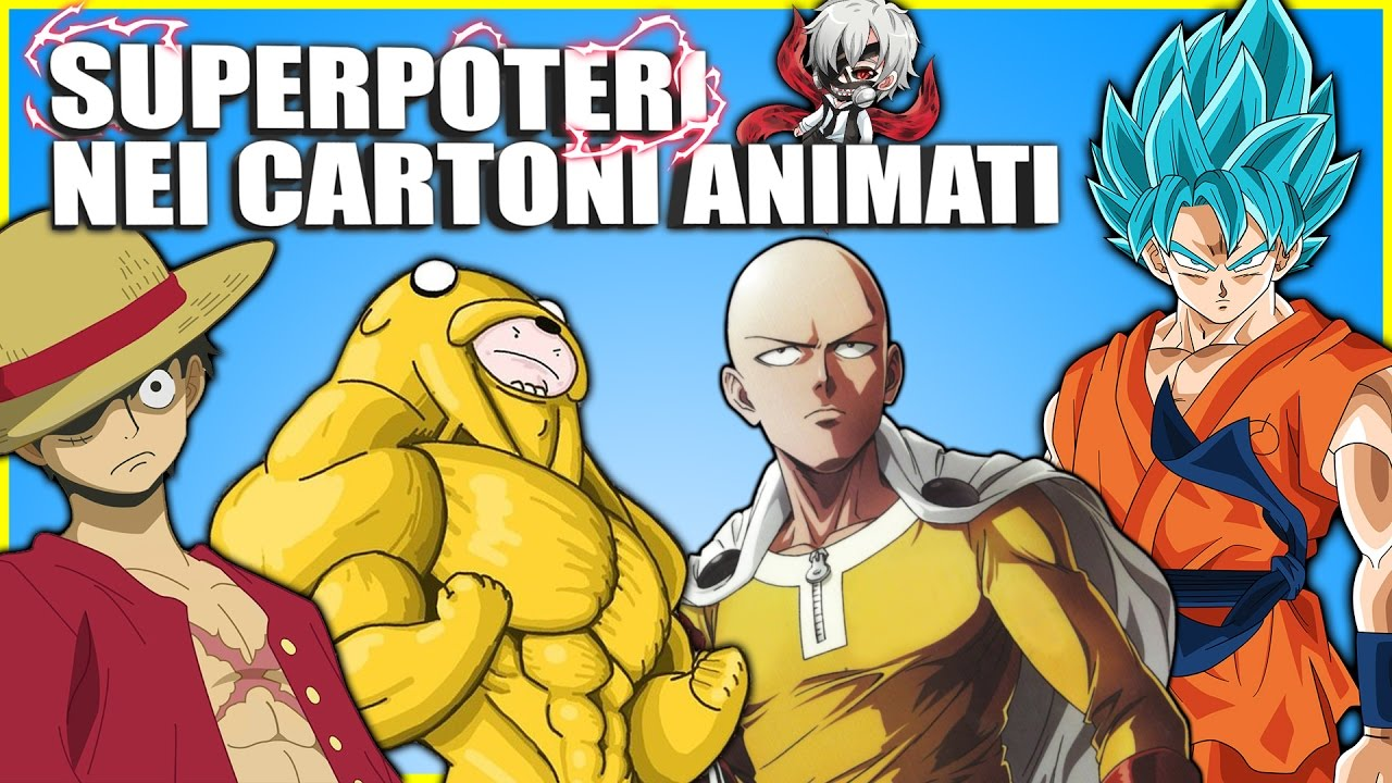 Superpoteri dei cartoni animati che vorresti 🐲 youtube