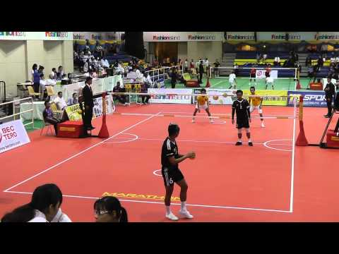 Sepak Takraw King's Cup 2012 - Philippines vs. Brunei - Doubles Final (Division 1)