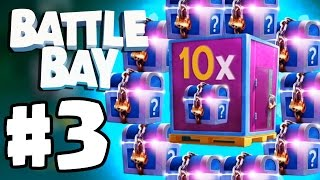 EPIC CONTAINER LEGENDARY OPENING  | Battle Bay | Battle Bay Gameplay Part 3 IOS/Android