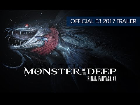 Monster of the Deep: Final Fantasy XV (PSVR) Official Teaser Trailer (with subtitles)