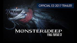 Монстр з глибин: фінал Фентезі ХV (дані) офіційний тізер-трейлер (з субтитрами)