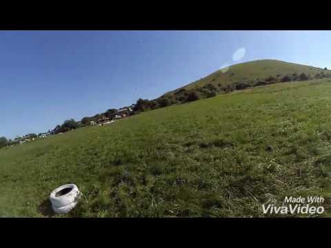 Параплан - наземка в сильный ветер || Paragliding - Ground Handling In Strong Wind