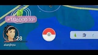 Pokemon Go lucky egg strategy going for 100K exp in 30 Min