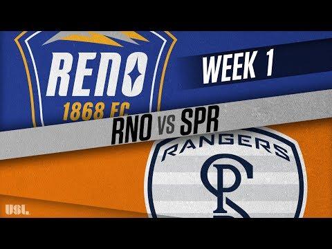 Reno 1868 FC vs Swope Park Rangers: March 17, 2018