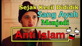 MUALAF MUDA 🙃 INGGRIS CAMERON MASUK ISLAM  - SEJAK KECIL SUDAH DIDIDIK MEMBENCI😣 ORANG MUSLIM
