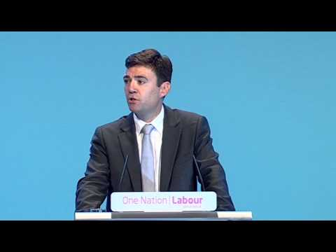 Andy Burnham's speech to Labour Party Annual Conference 2013
