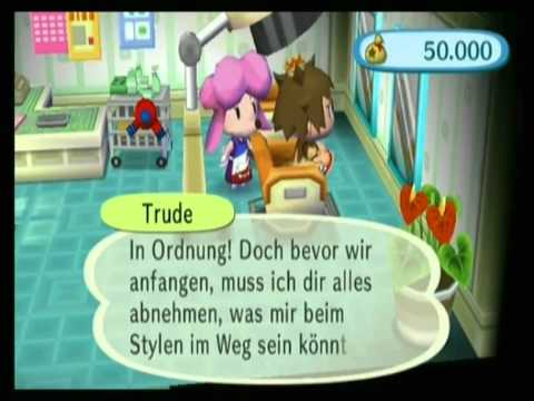 Animal Crossing Lets Go To The City Verrückte Frisur Youtube