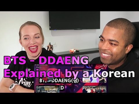 BTS - DDAENG Explained by a Korean (REACTION 馃幍)