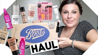 BOOTS Haul + £10 Off Deal Ends 31/07