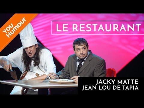 Jean Lou de Tapia & Jacky Matte : Le restaurant