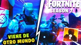 NEW ENEMY IN FORTNITE *SEASON 7* SECRET HUNTING AND THEORY PARTY