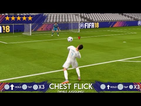FIFA 18 ALL 83 SKILLS TUTORIAL | Xbox One & PS4