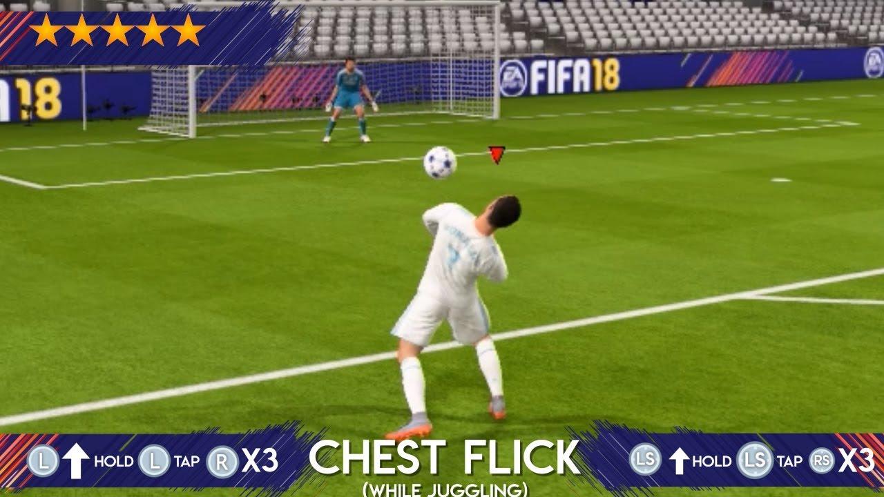 FIFA 18 ALL 83 SKILLS TUTORIAL