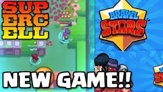 Playing Supercells New Game | Brawl Stars | First Live Look! - Ep.1 | Clash of Clans New Game
