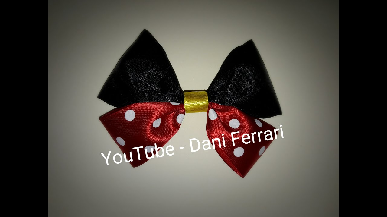 Como Fazer Laço De Fita How To Do An Easy Bow Diy Laço Da