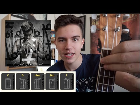 Ukulele ukulele chords for love yourself : Love Yourself Ukulele Tutorial - YouTube