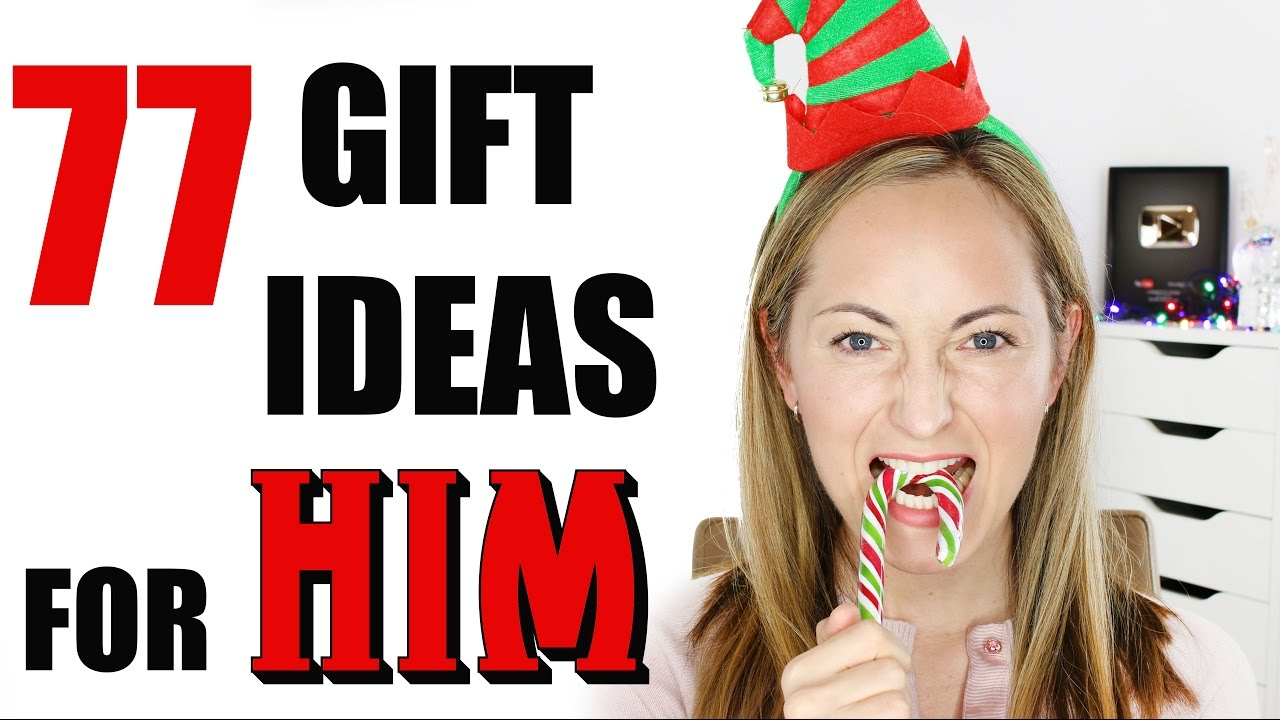 77 christmas gift ideas for him youtube