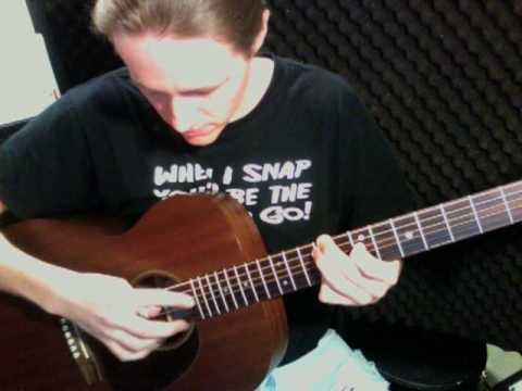 Over The Rainbow intro (harmonics) Tutorial - Tommy Emaunnuel Version - Bryan Rason