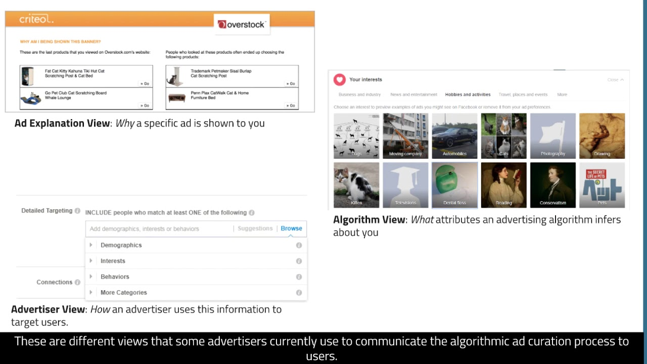 Communicating Algorithmic Process in Online Behavioral Advertising