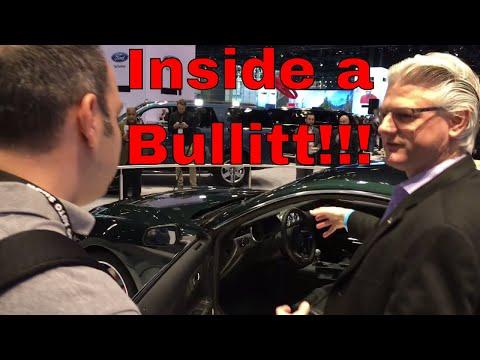 Chief Engineer Describes 2019 Ford Mustang Bullitt!!!
