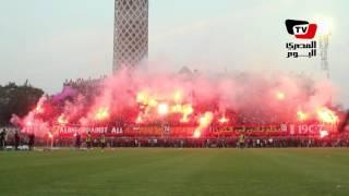 أولتراس أهلاوي يشعل ملعب مختار التتش في أول تدريبات «بيسيرو»