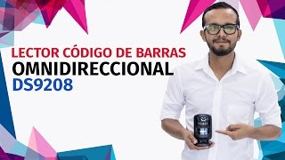 Lector de Código de Barras OmniDireccional Motorola DS9208 - SICAR.MX