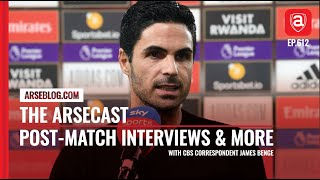 PostMatch Interviews Plus Transfer ins & outs   Arsecast
