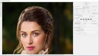 Adobe Photoshop. Урок №4. Ретушь волос. (Евгений Карташов)