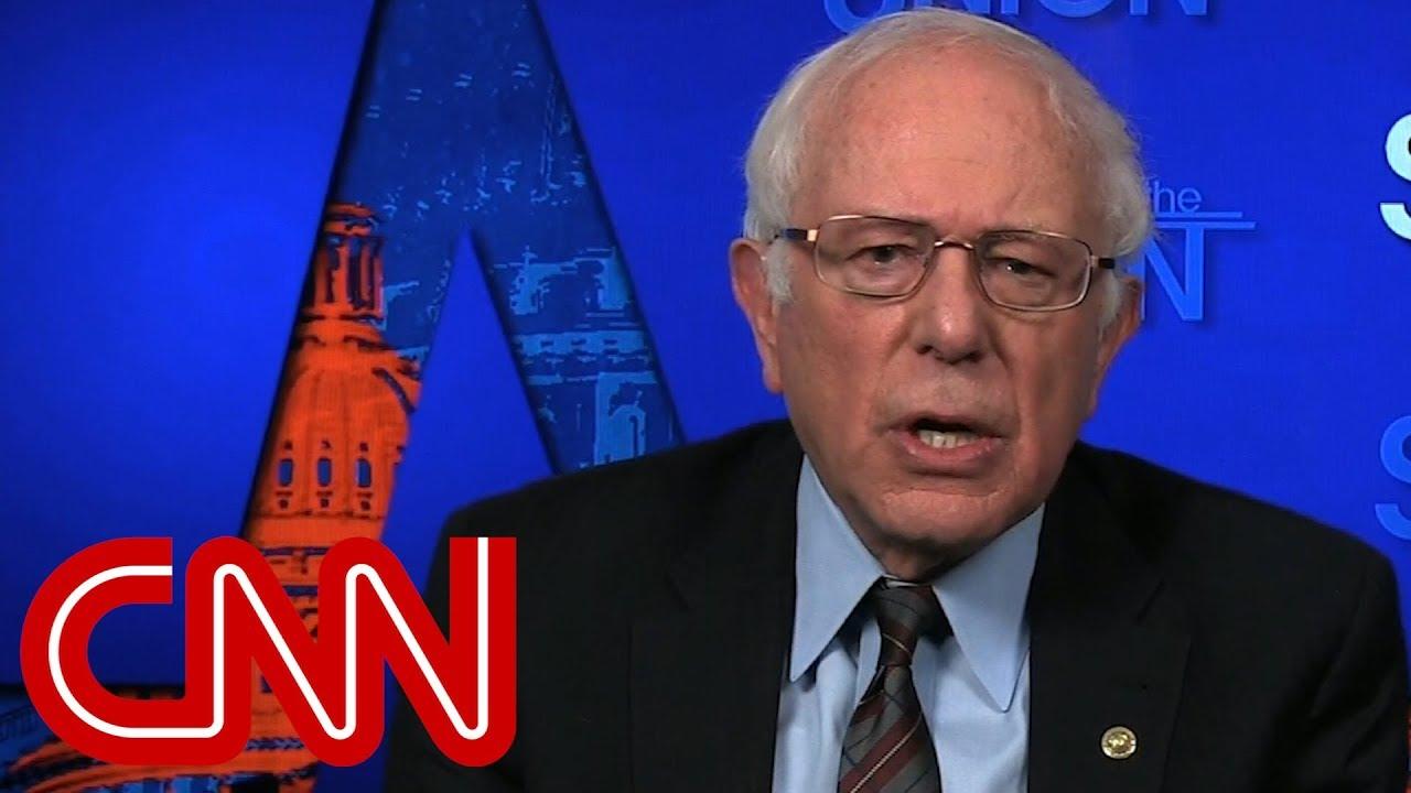 Bernie Sanders slams the GOP tax plan